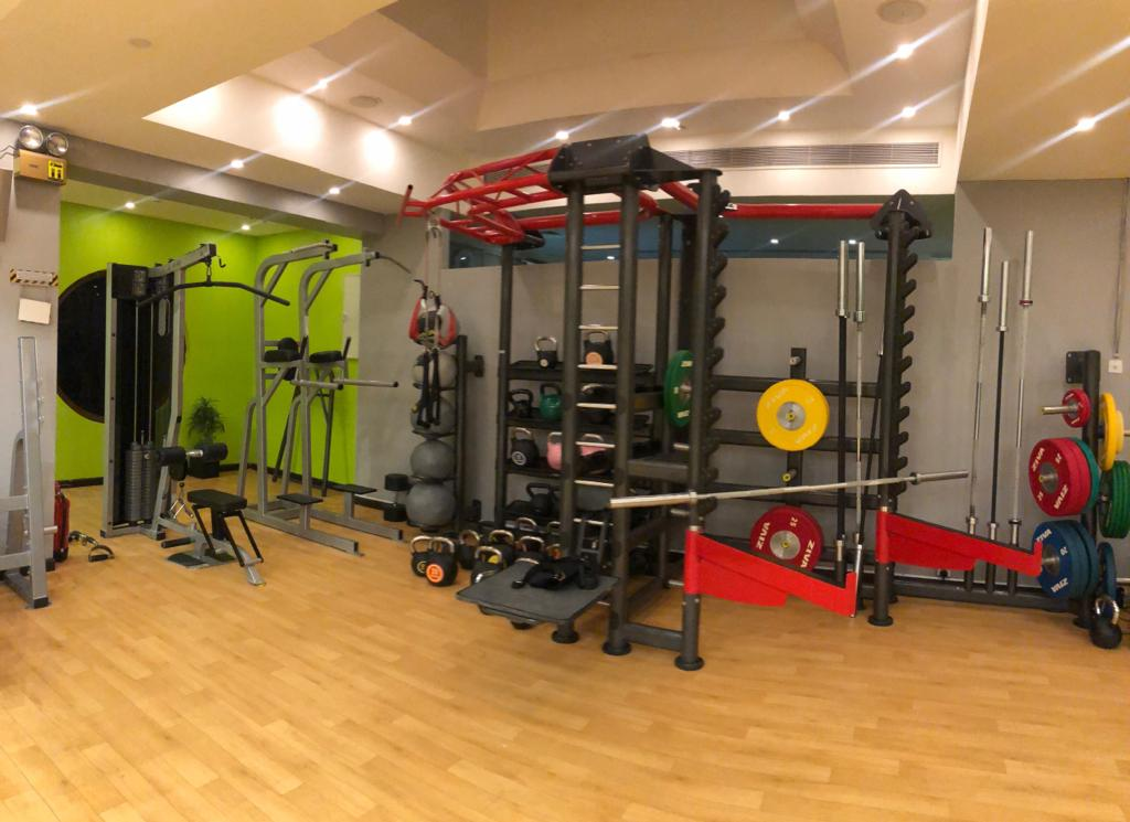 Gym Kai fitness center  Tujjar Jeddah - tahlia