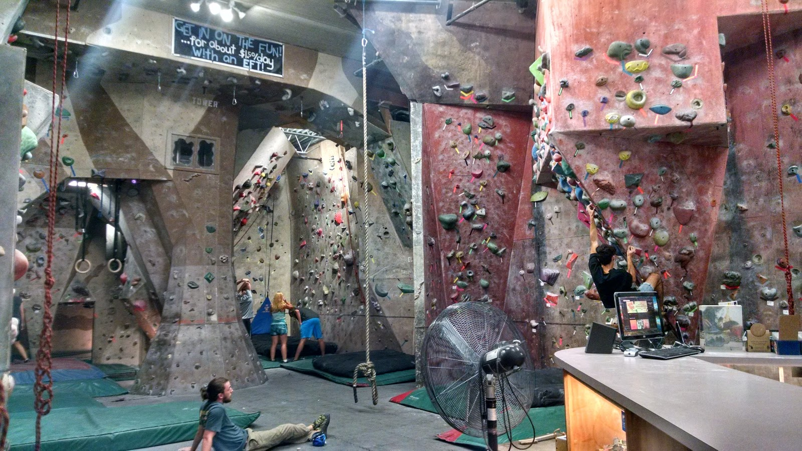 North Wall Rock Climbing Gym - photo