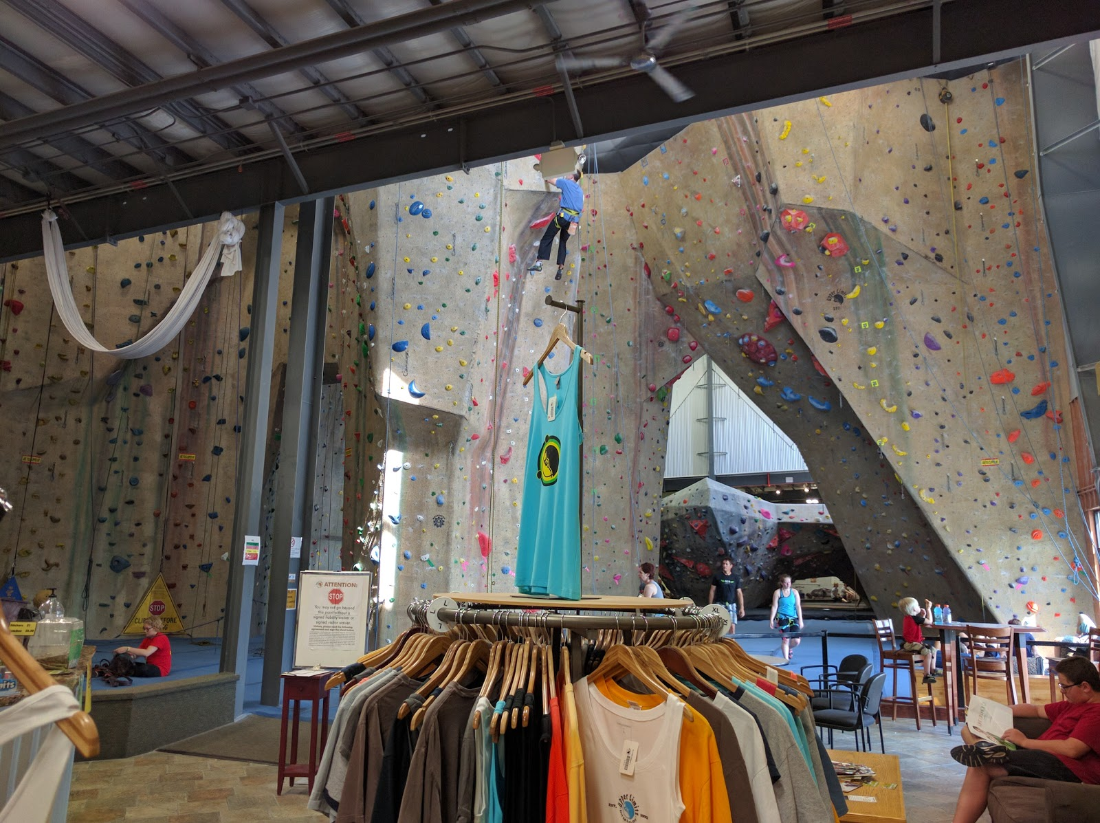 Upper Limits Indoor Rock Climbing Gym - Maryland Heights - photo
