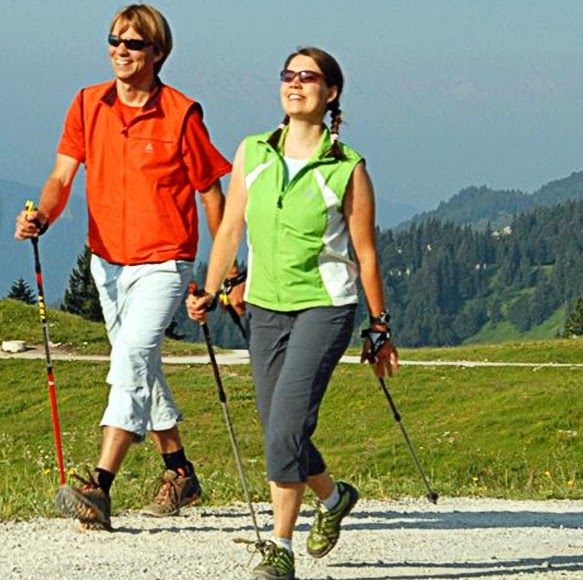 Shop sticks for Nordic walking Nordicpro - photo