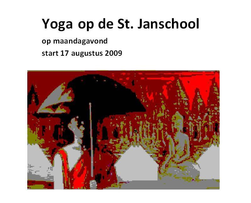 Yoga in de Baarsjes - photo