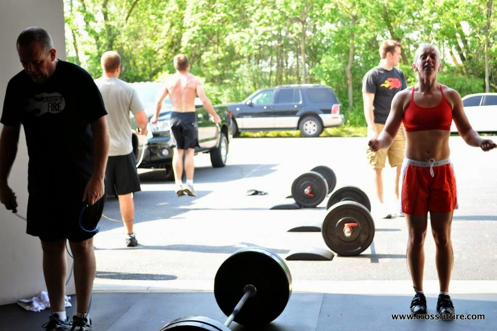 CrossFit Fire - photo