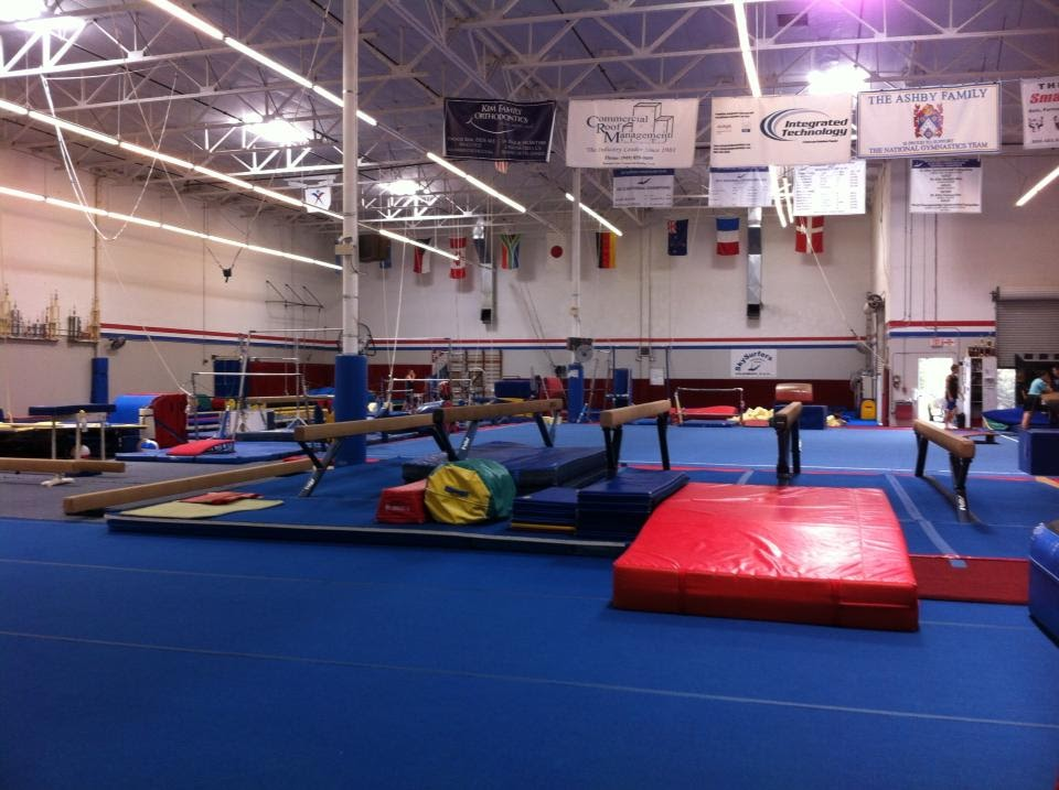 National Gymnastics Training - photo