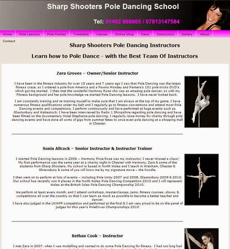 Sharp Shooters Pole Dancing School - photo