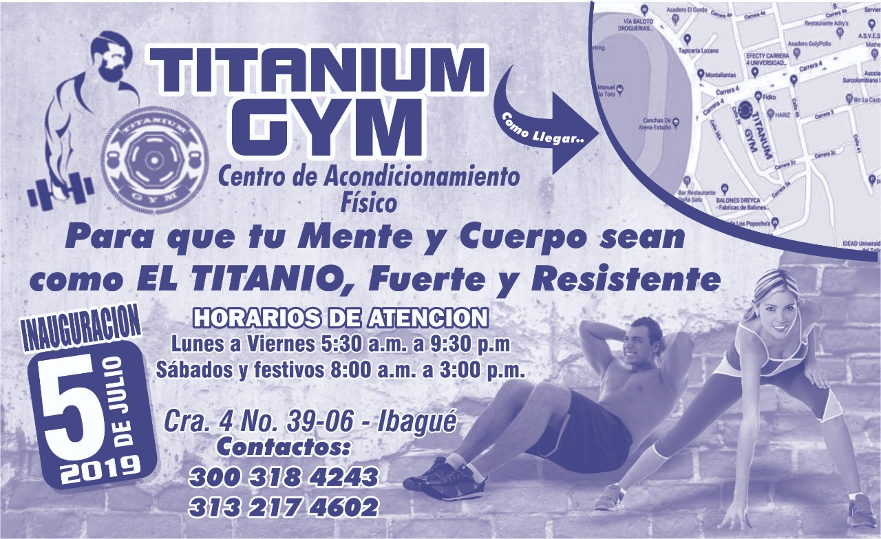 TITANIUM GYM - photo