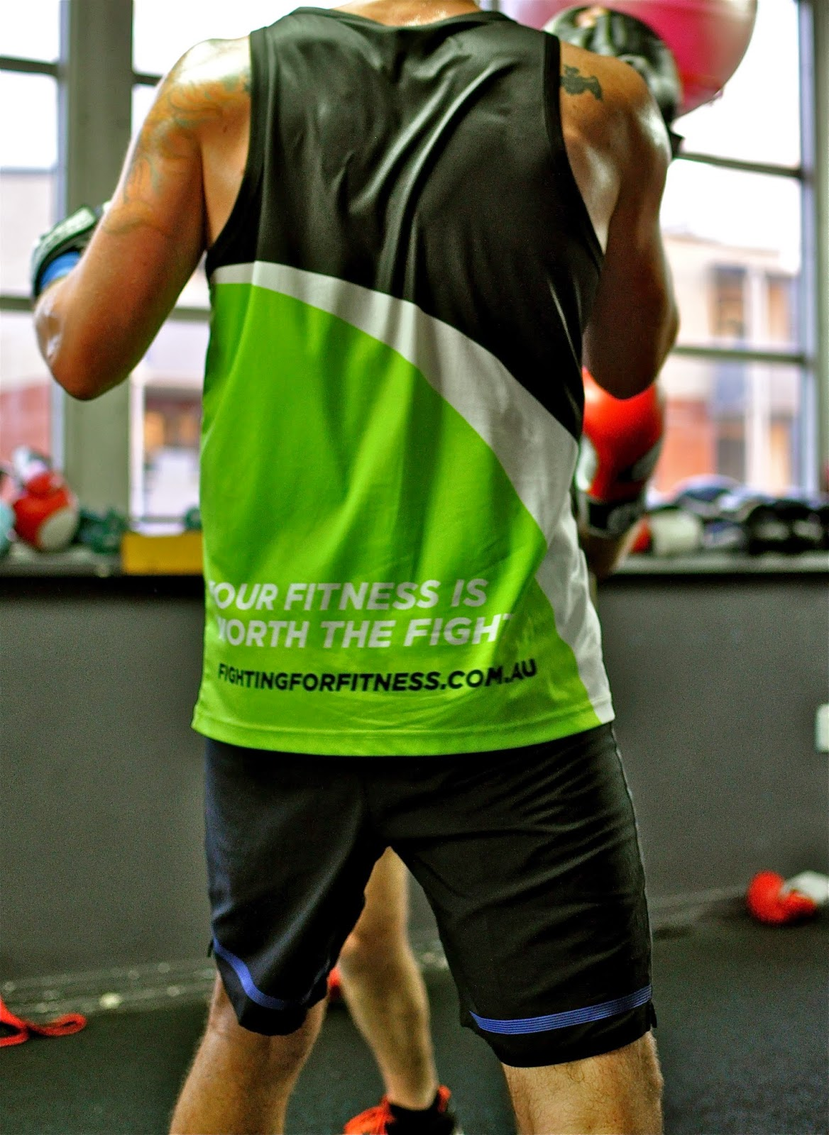 Fighting For Fitness - photo
