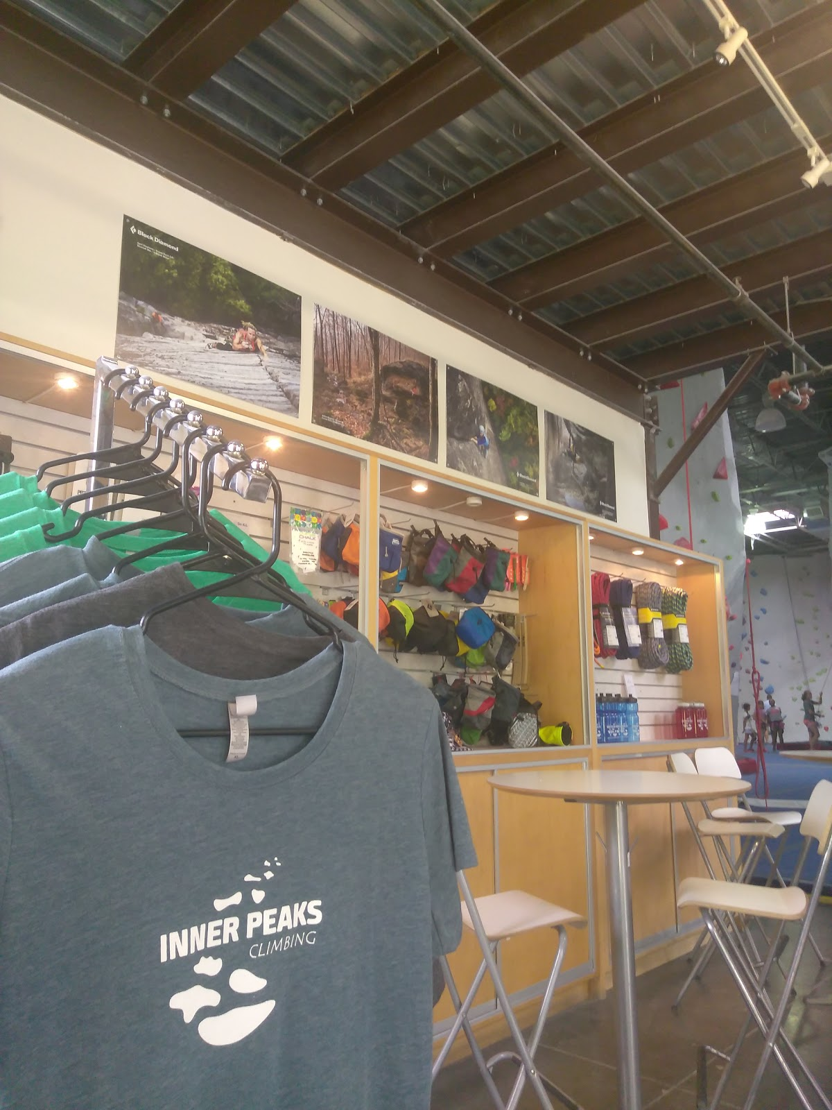 Inner Peaks Climbing Center - photo