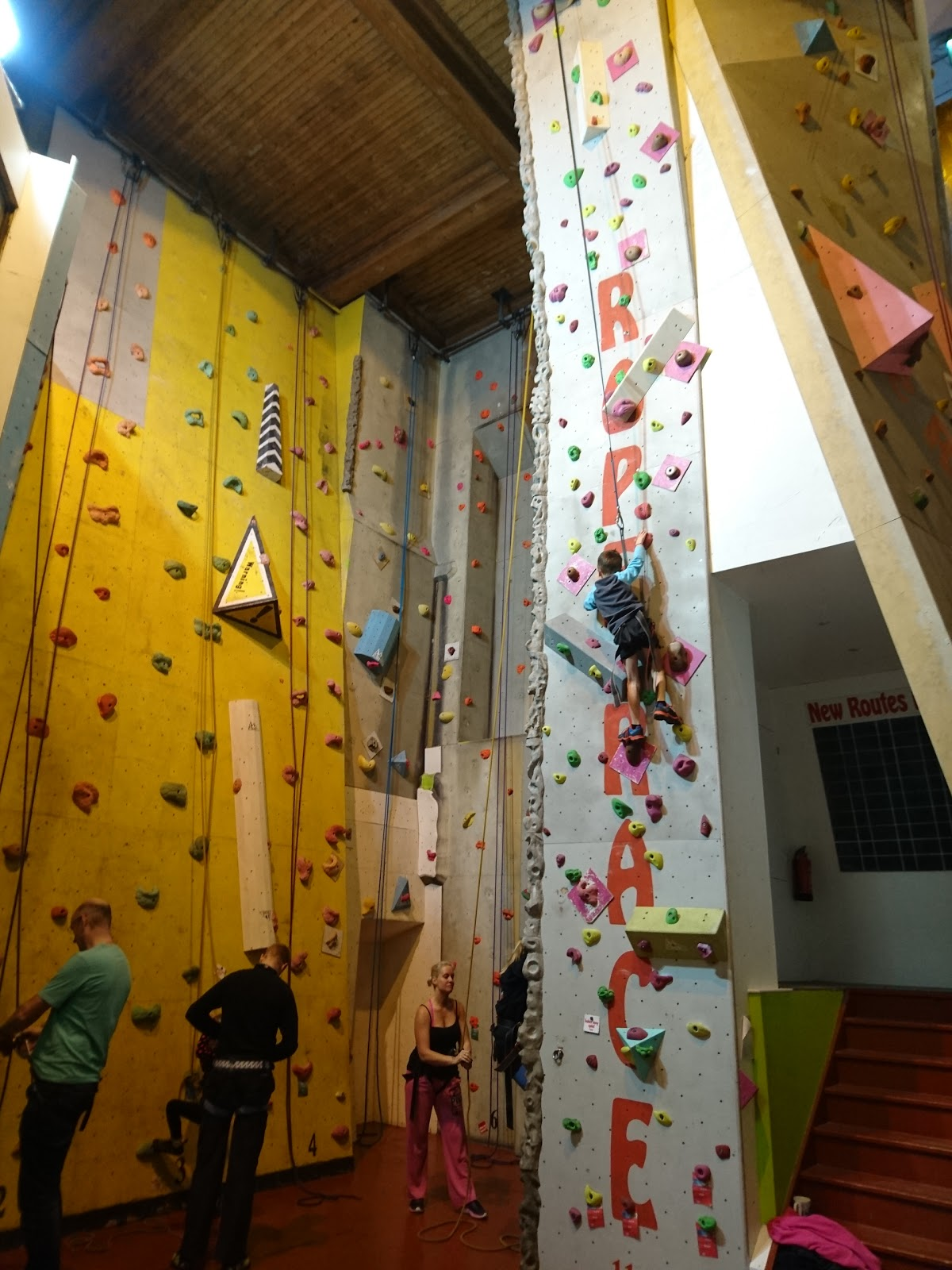 Rope Race Climbing Centre - photo