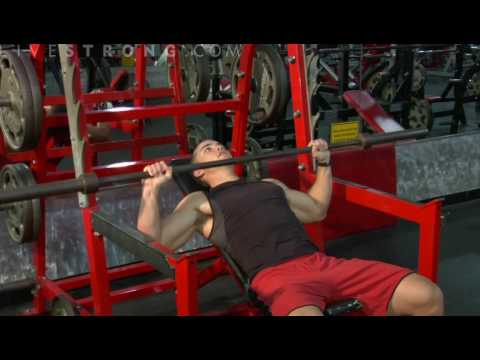 Barbell Incline Chest Press