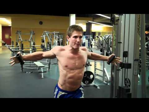 High Cable Chest Fly