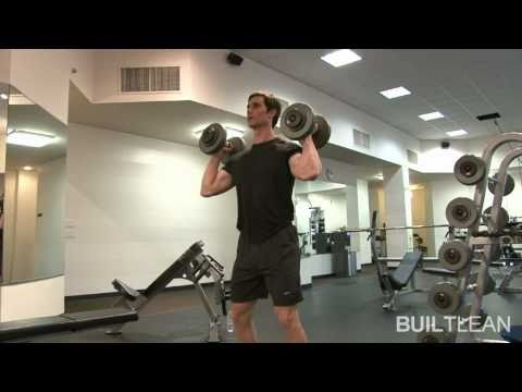 Dumbbell Hang Clean & Press