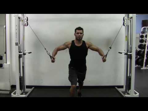 Standing Cable Chest Fly