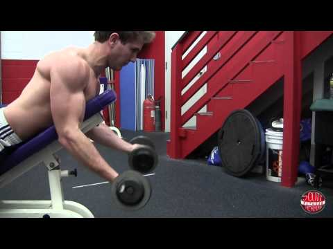 Prone Incline Curl With Dumbbells (Spider Curl)