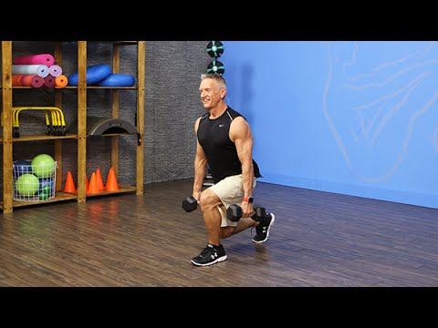 Walking Dumbbell Lunge