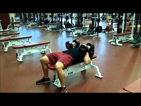 Close Grip Dumbbell Bench Press
