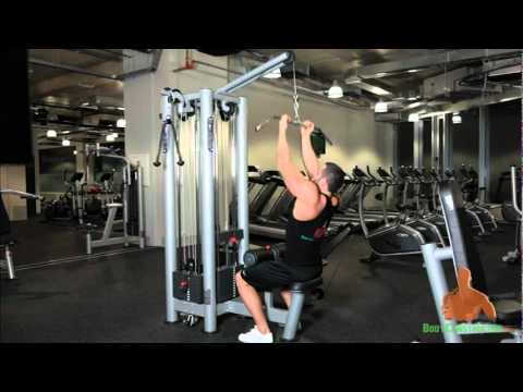 Close undergrip Lat Pull-Downs