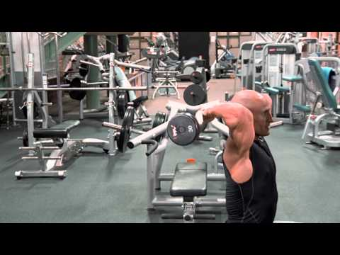 Overhead Easy Curl Bar Extension
