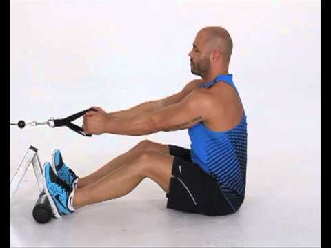 Seated Cable Row V Grip