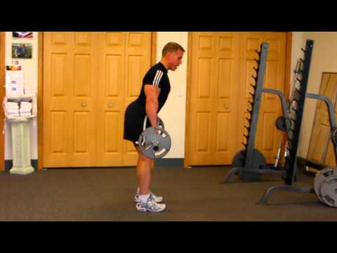 Stiff Legged Dead LIft