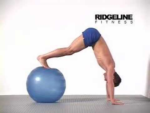 Swiss Ball Pike Press