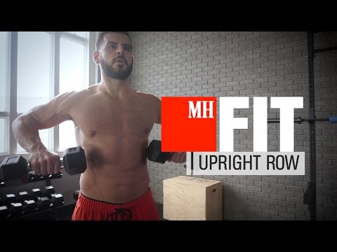 Dumbbell Upright-Row