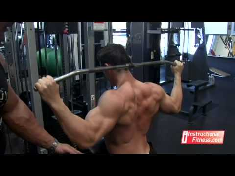 Rear Pull Downs