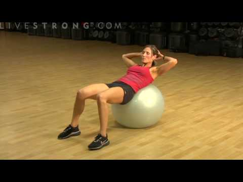 Swiss Ball Crunch